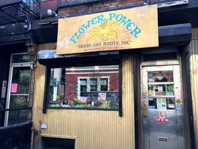 Flower Power Herbs and Roots Inc., New York